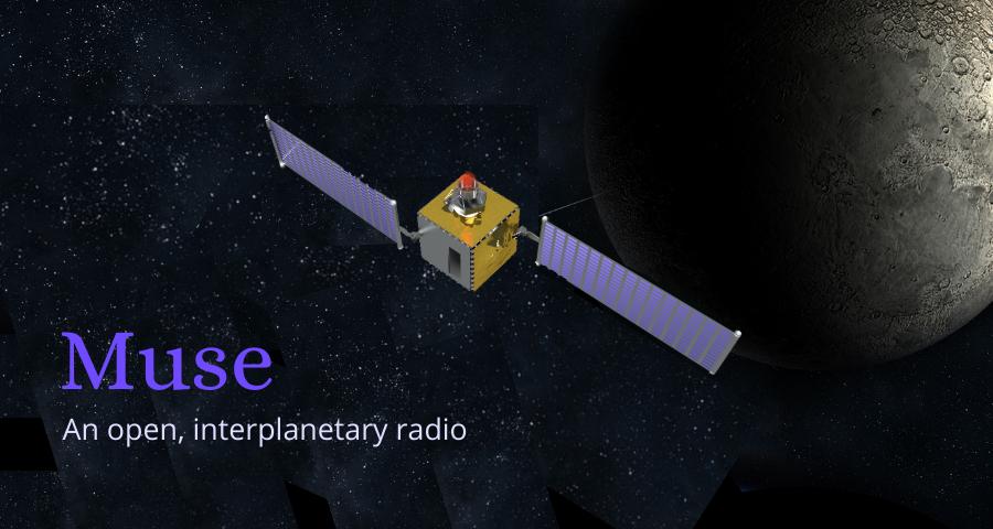 Muse open interplanetary radio model