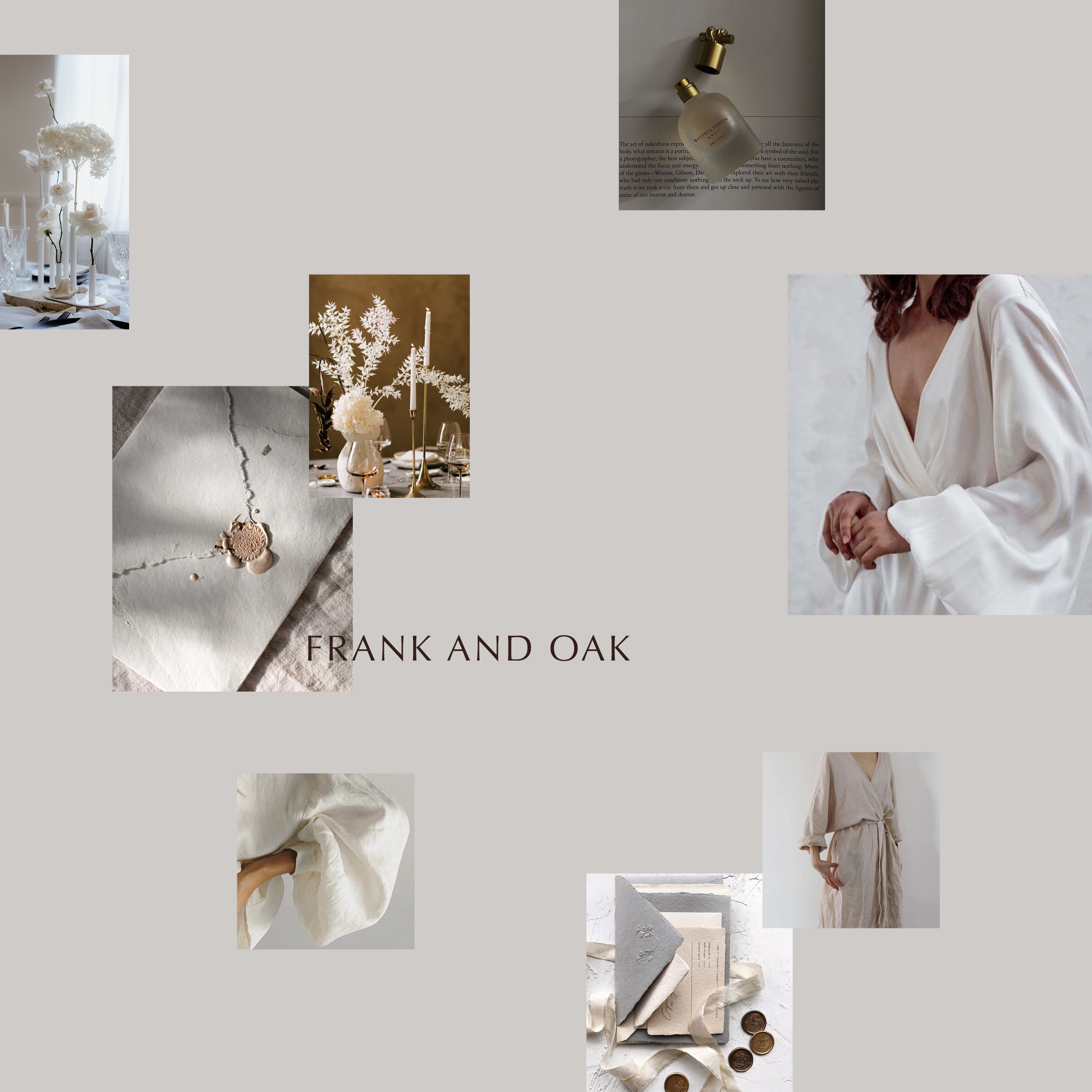 Moodboard designed for client
