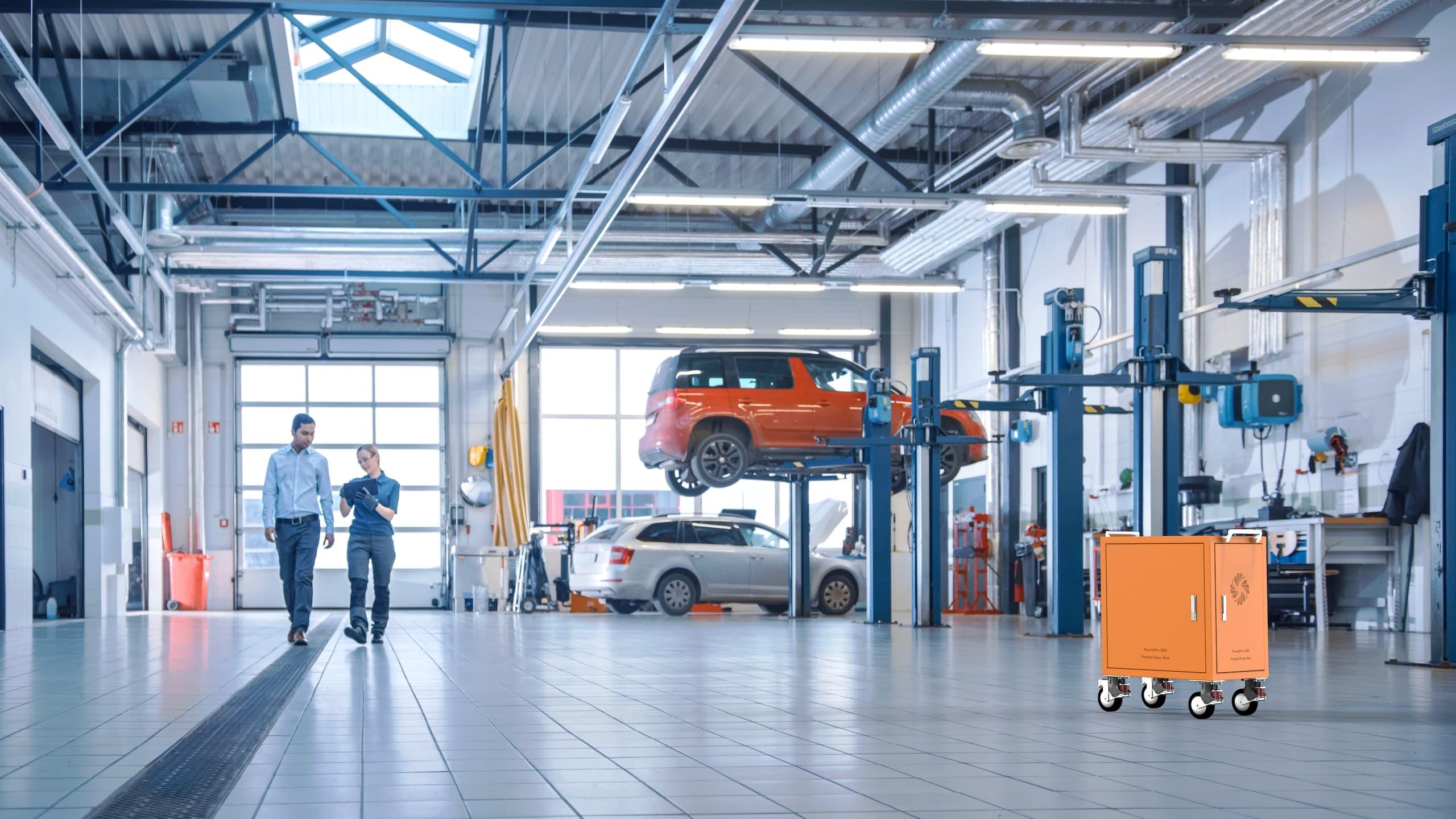 portable-power-bank-application-in-car-repair-workshop