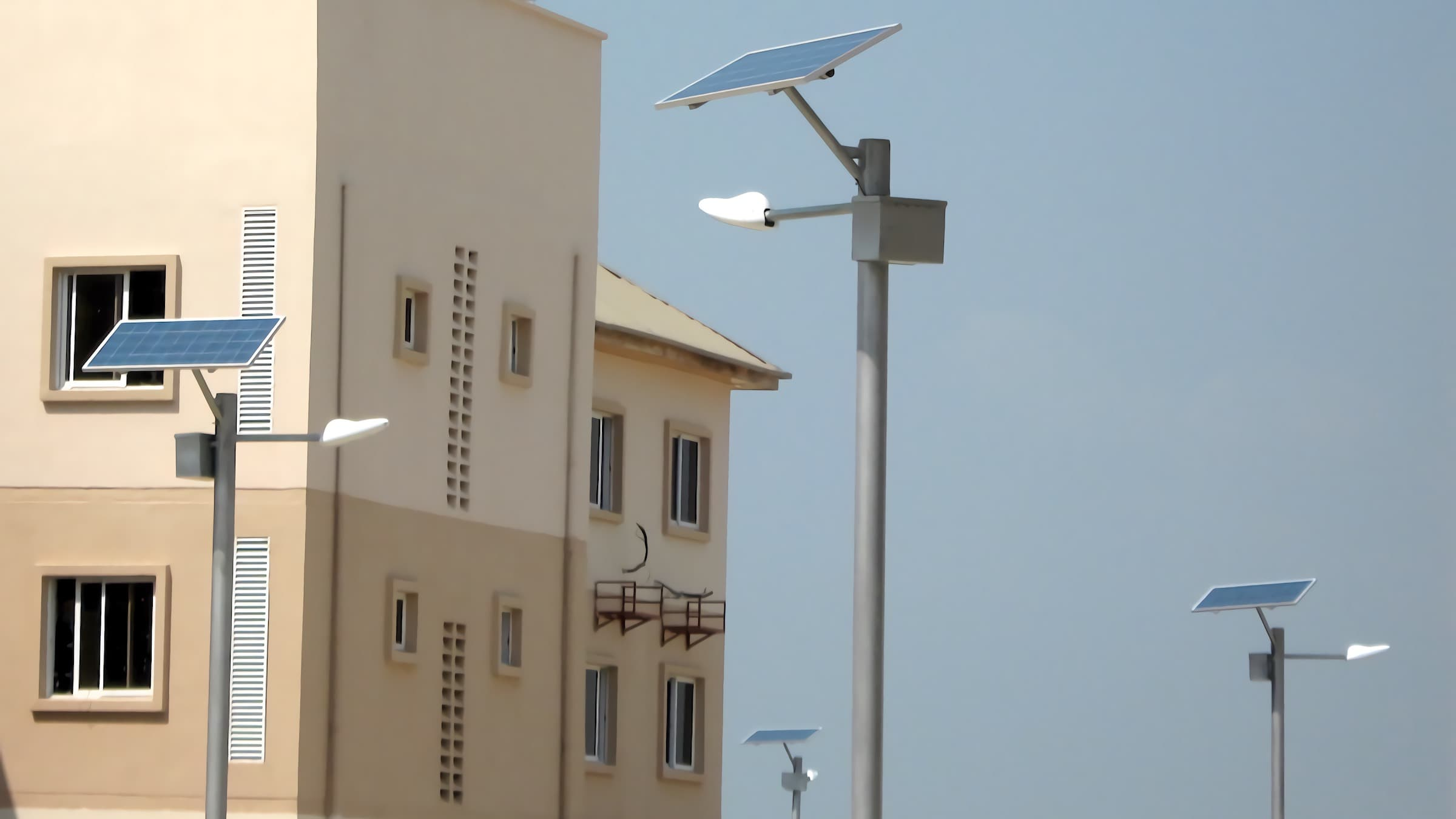 Hundreds of 35 W Solar LED Street Lights are now sparkling on the streets of Lagos, this project has greatly reduced the local power consumption