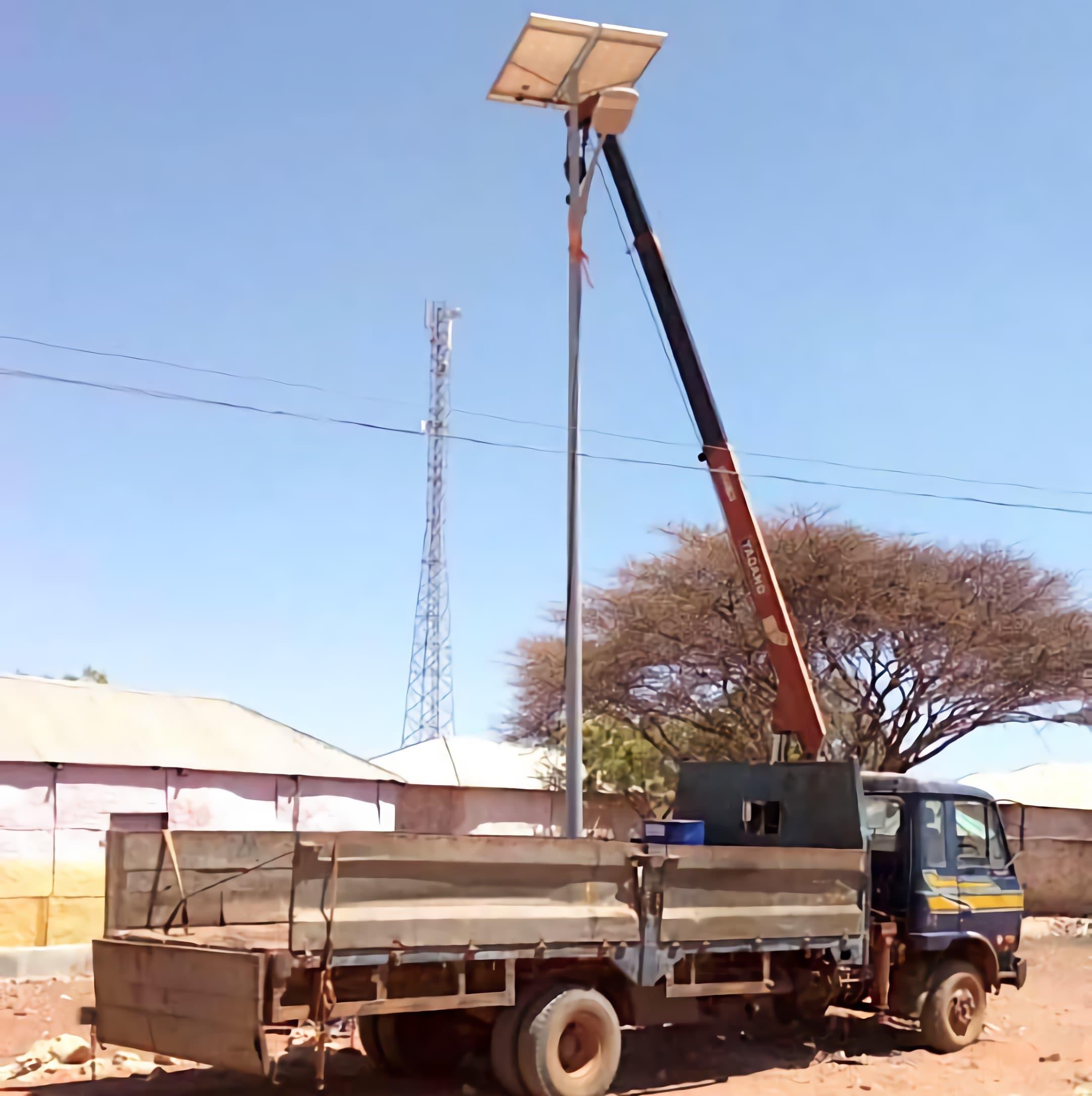 solar-street-light-system-30-watts-installation-in-Mogadishu-of-Somalia