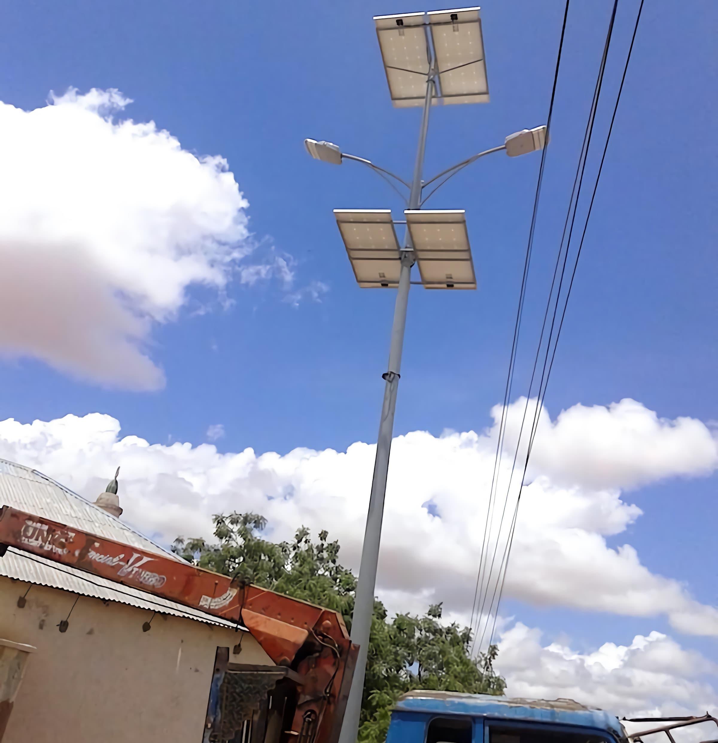 solar-street-light-60-watts-installation-in-Mogadishu-of-Somalia