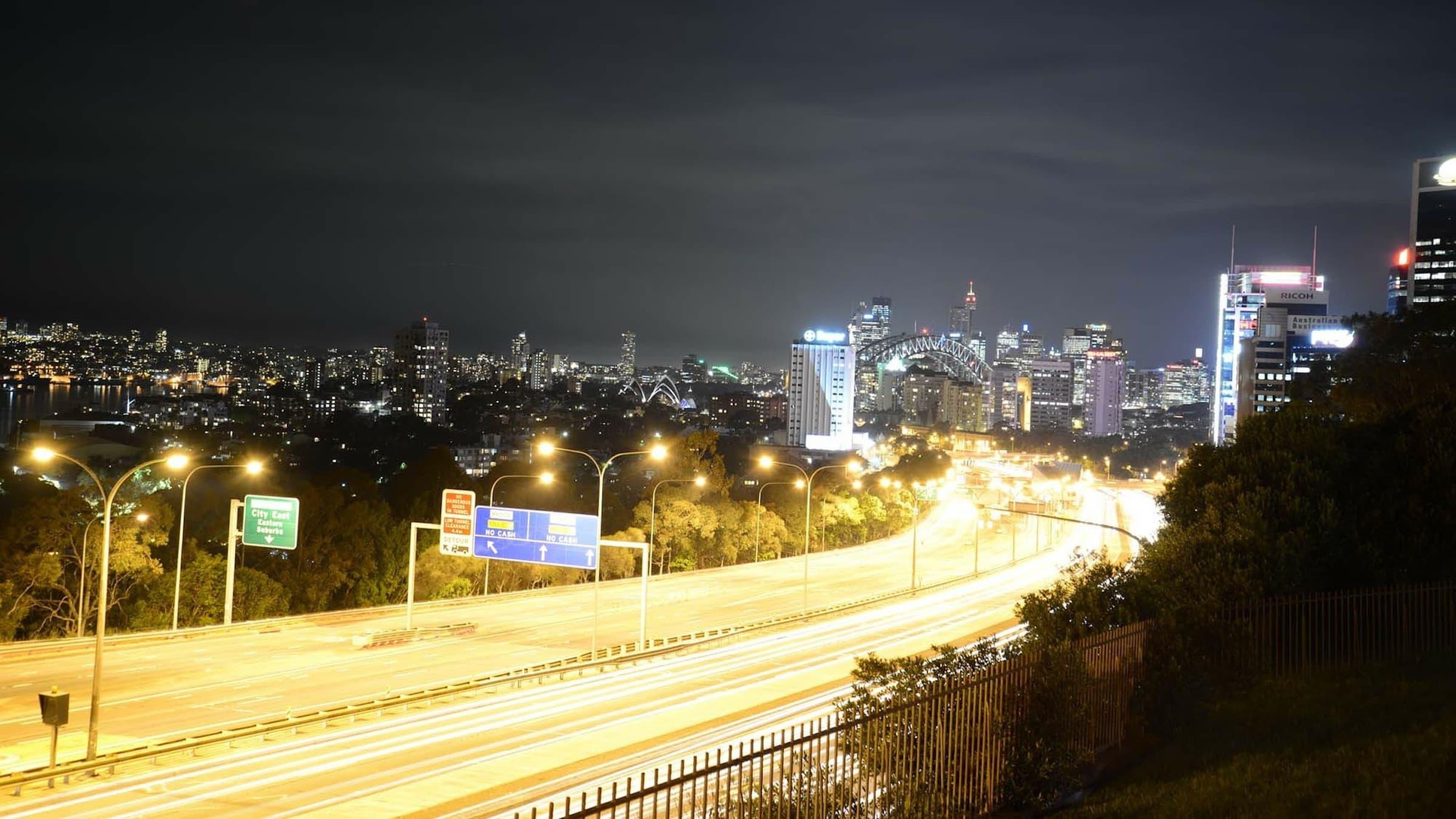 light-pollution-in-Sydney-city