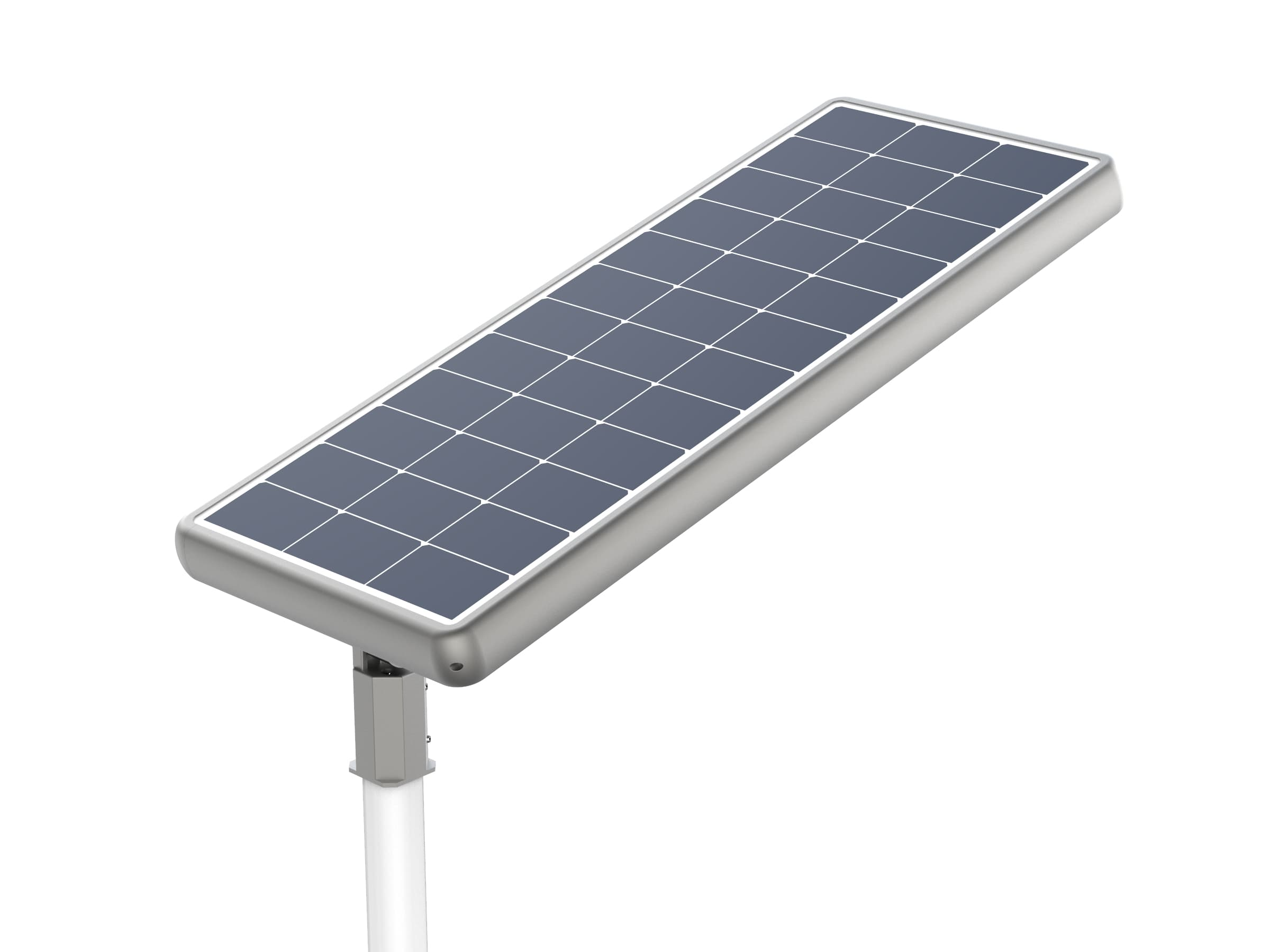 All-in-one solar street light credible hybrid and mppt solution 20 to 60 watts