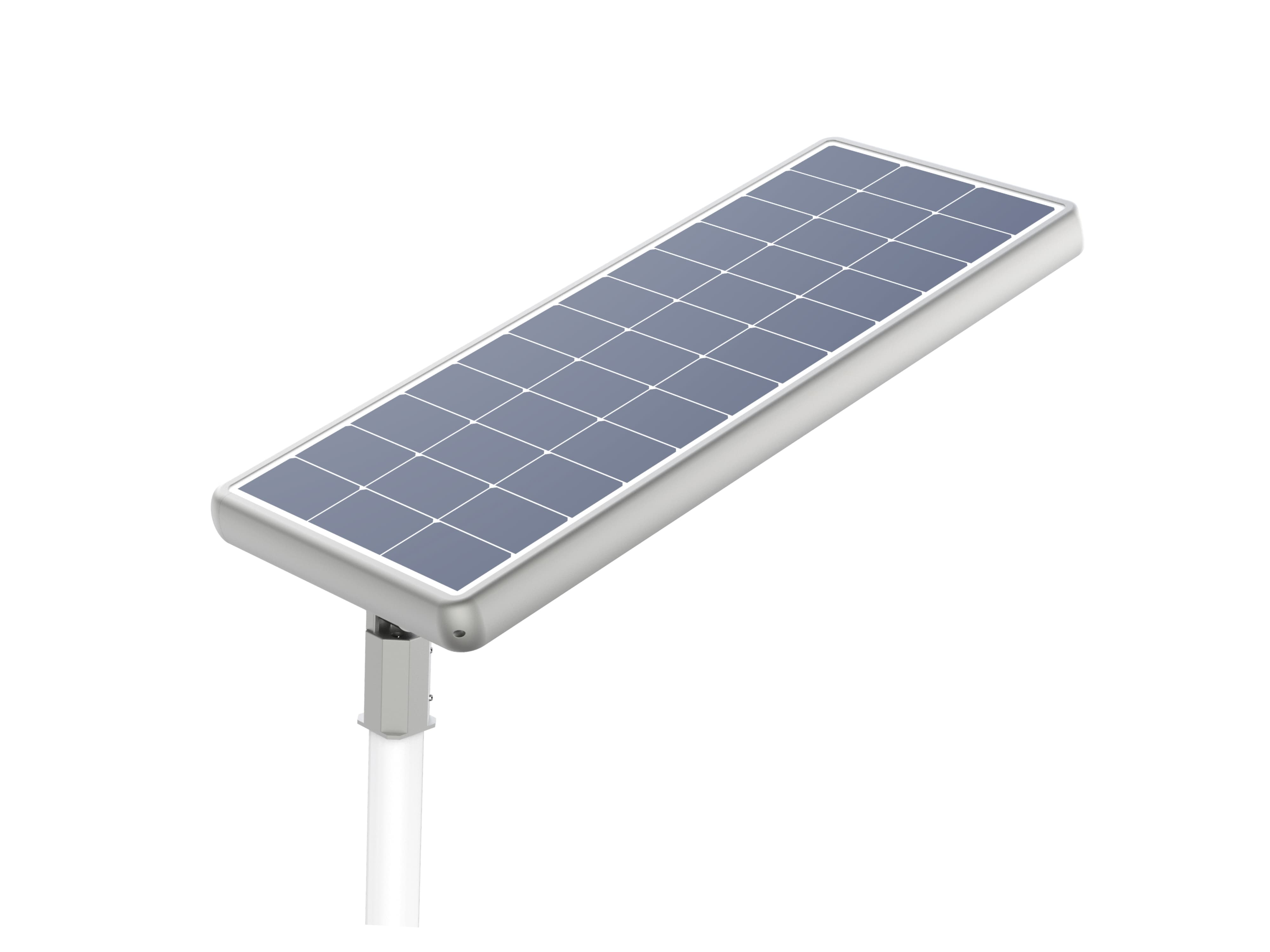 Lightgogo 4 all-in-one solar street lights are raised light sources which are powered by its own solar power self-generating system.