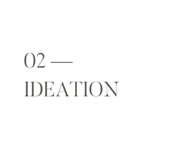 02 - Ideation