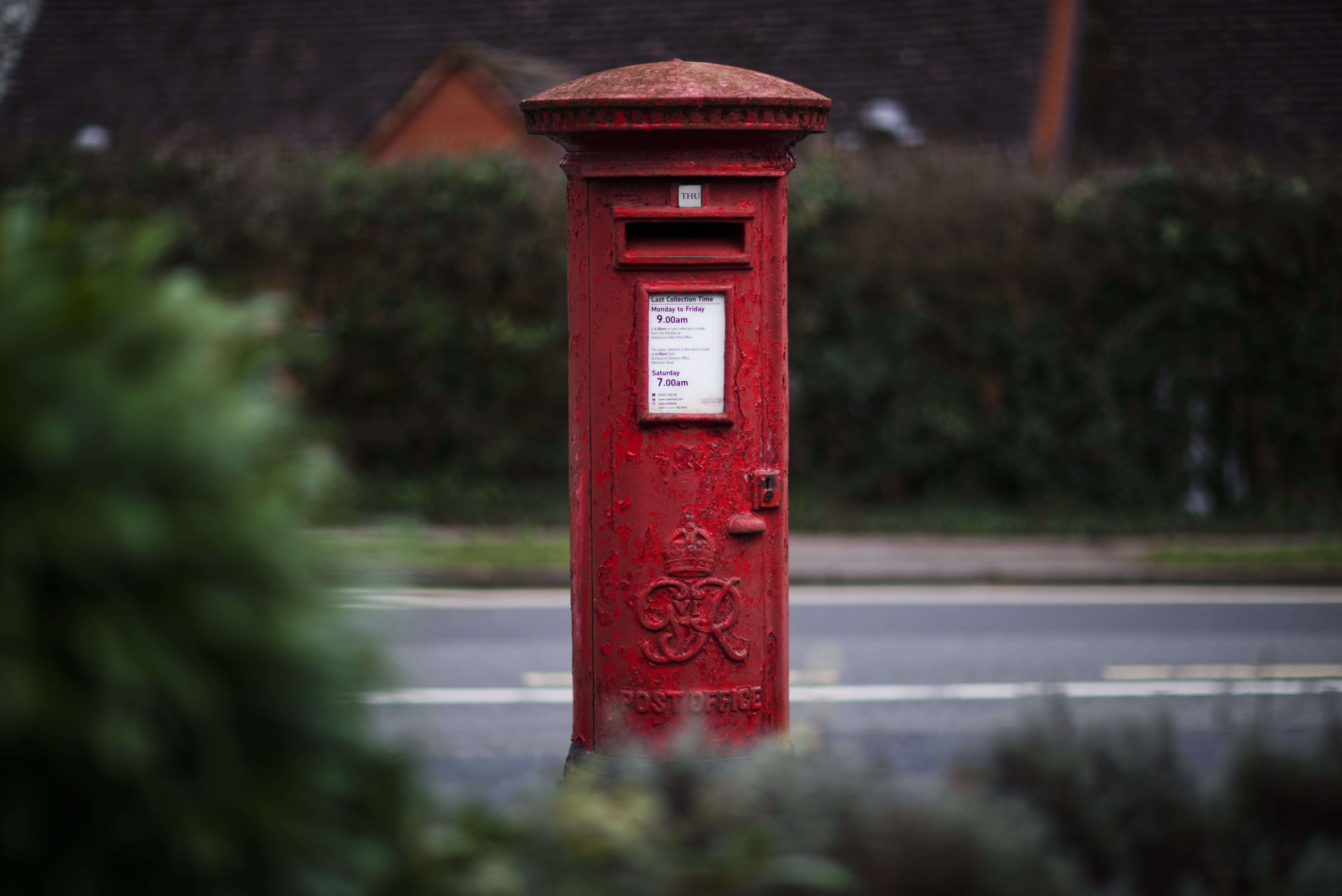 Postbox Cokayne Ave by dentists