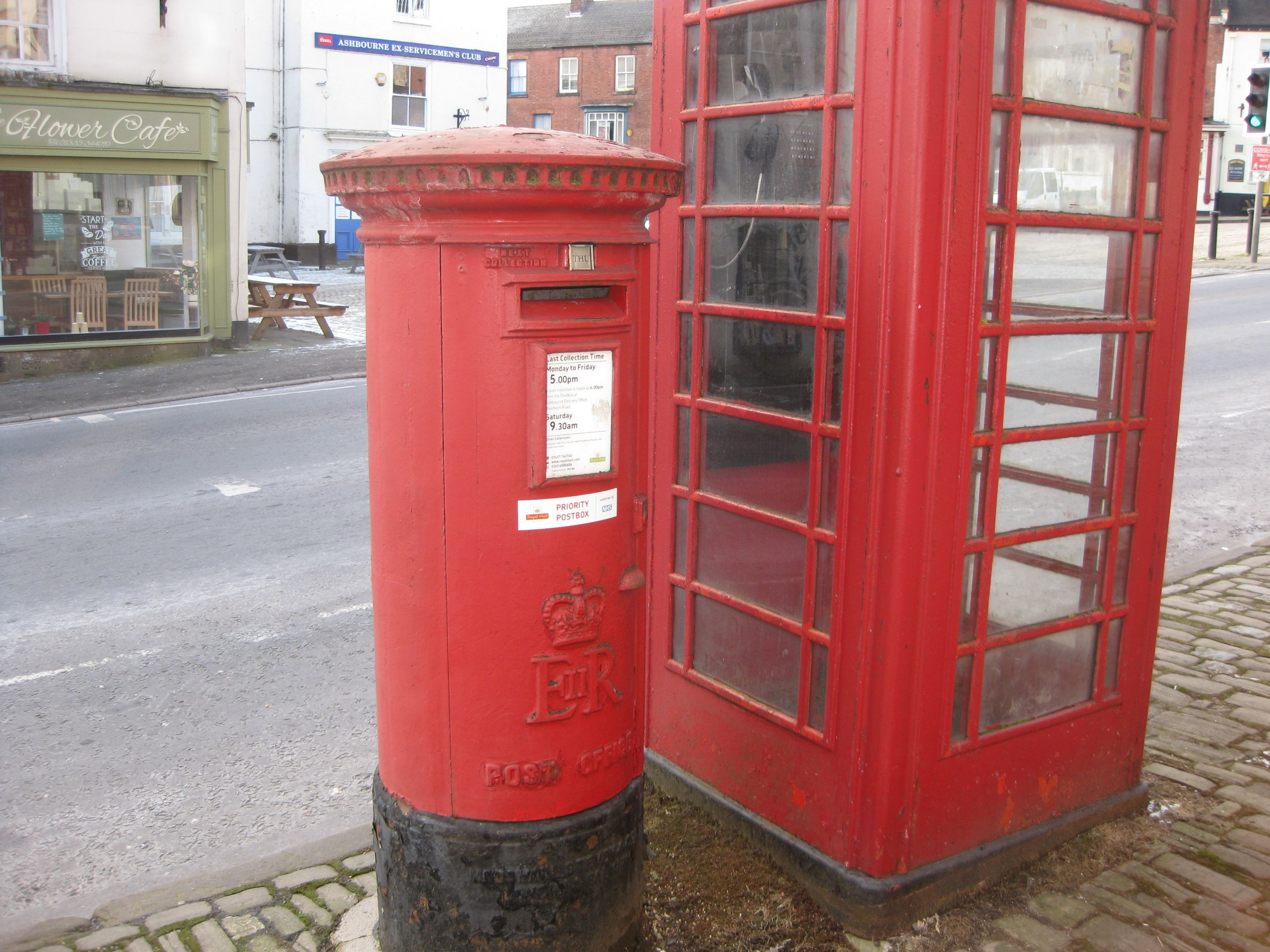 Postbox by Town Hall
