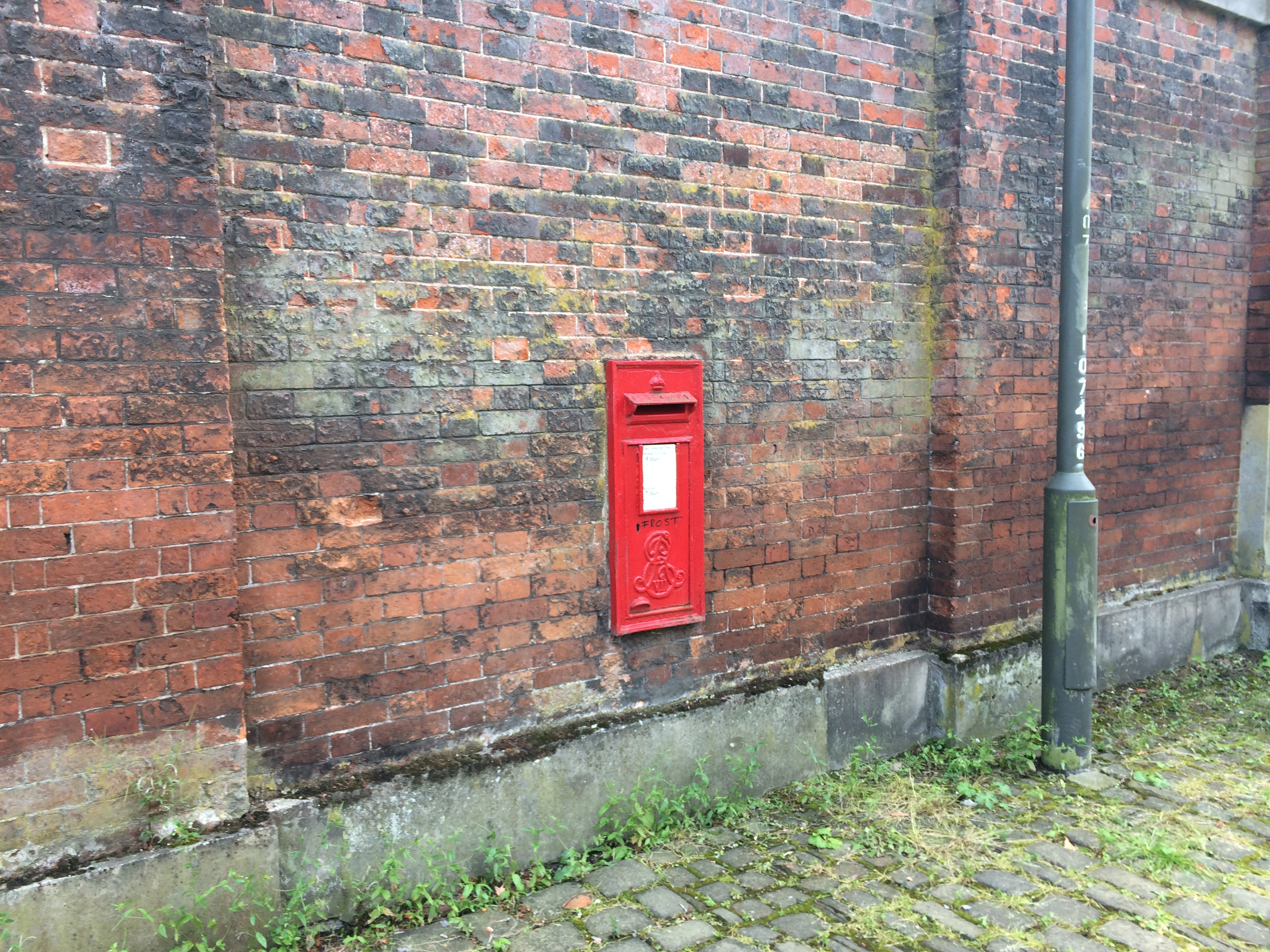 Postbox by the Mansion