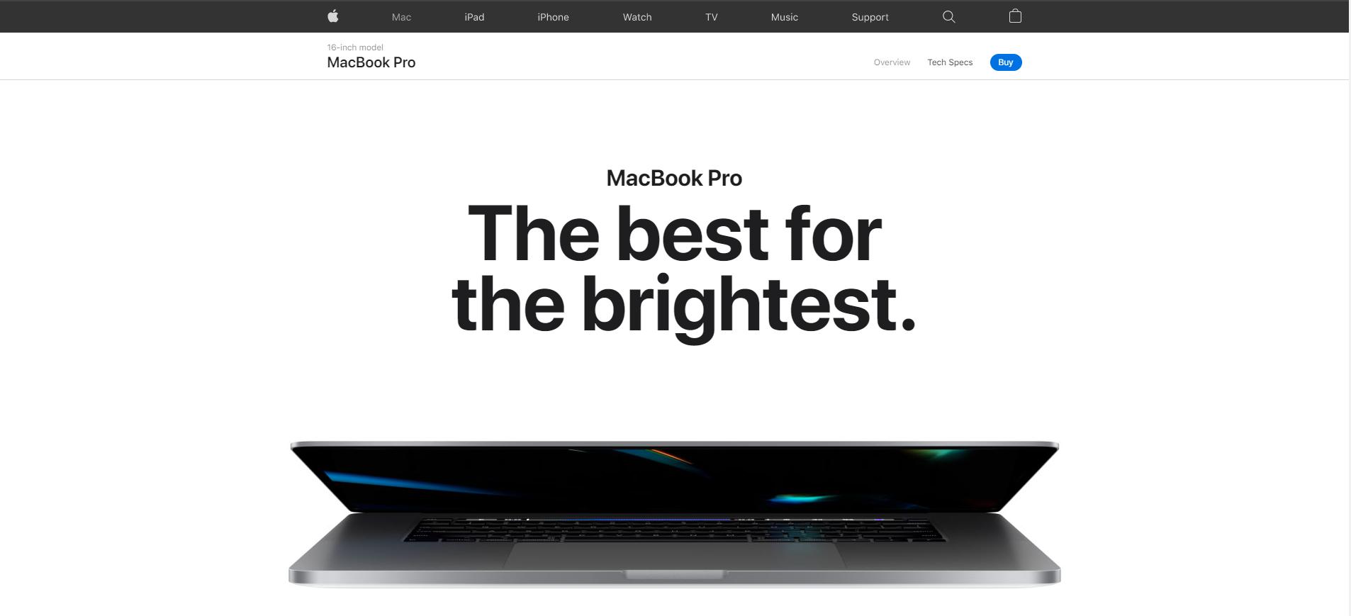 Ukázka jak Apple využívá designu