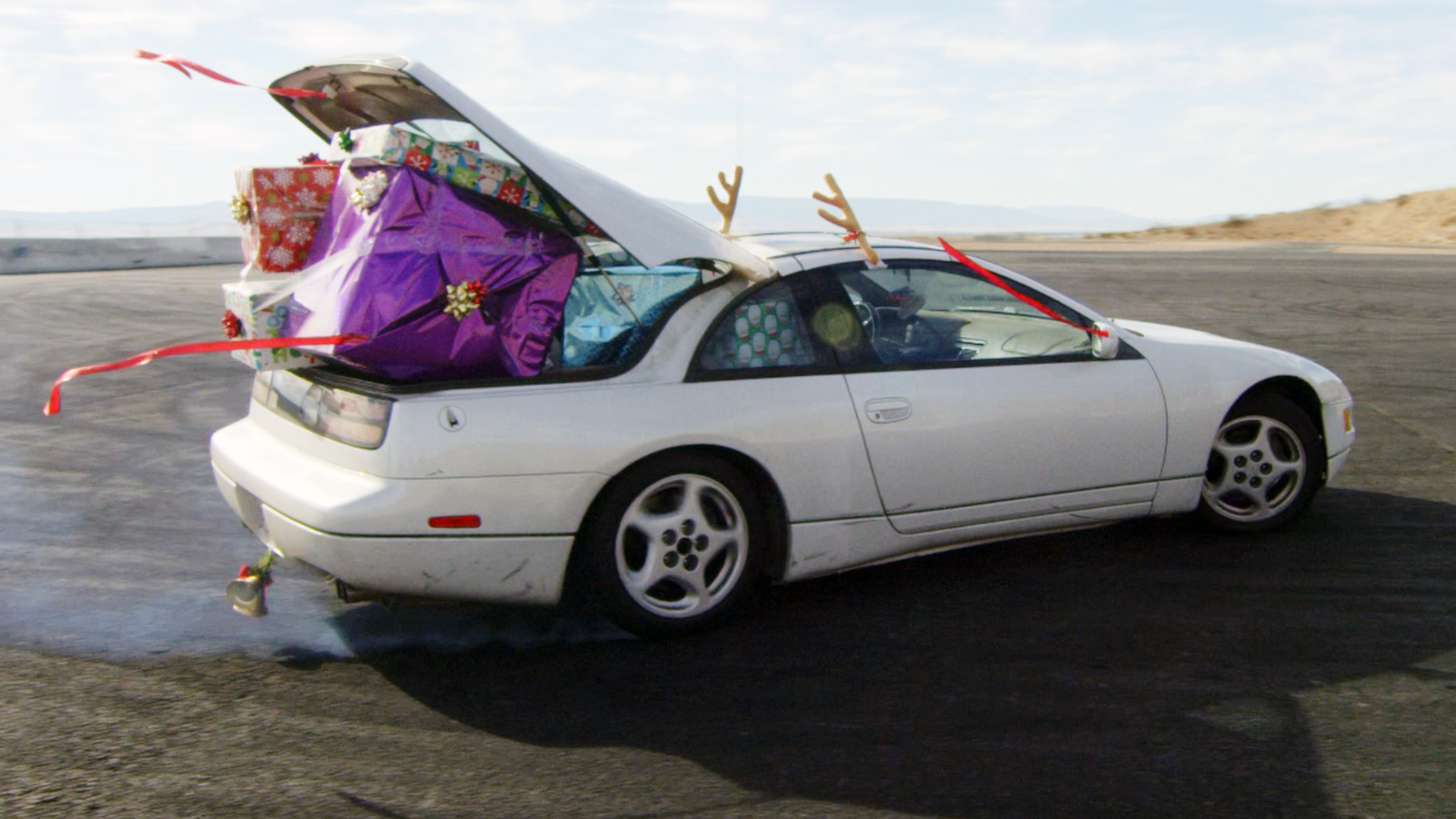 Christmas Drifting Stuntman