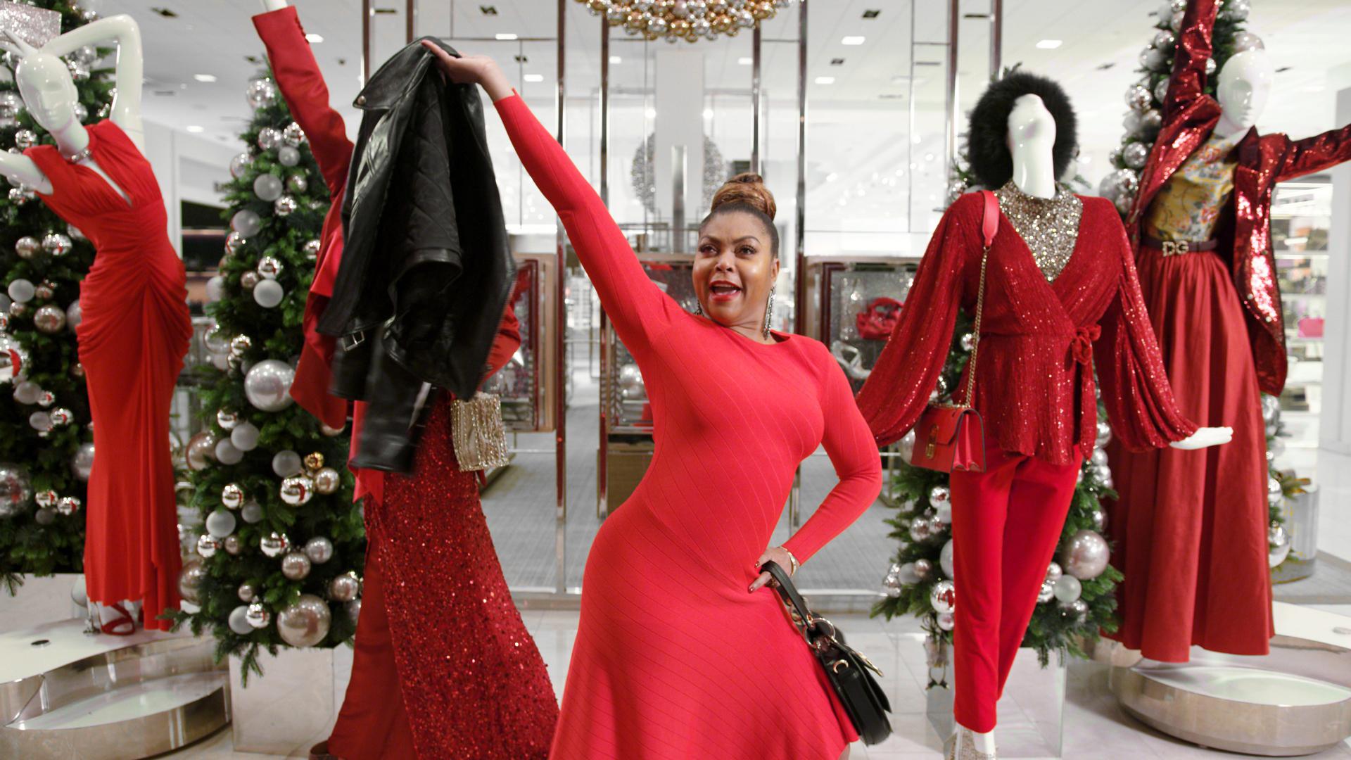 Taraji P Henson Spends the Night at Neiman Marcus this Holiday