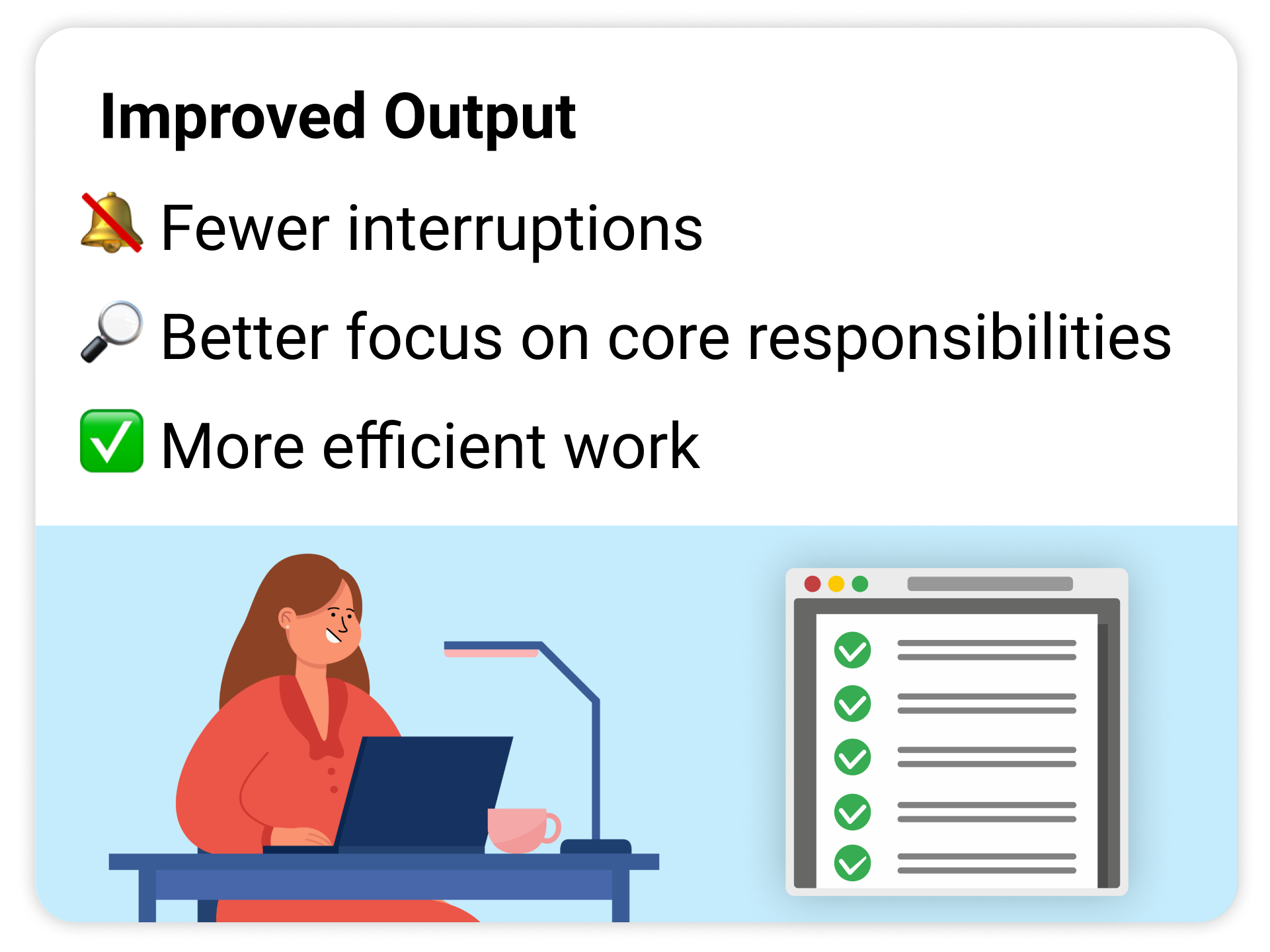 automation makes your team more productive
