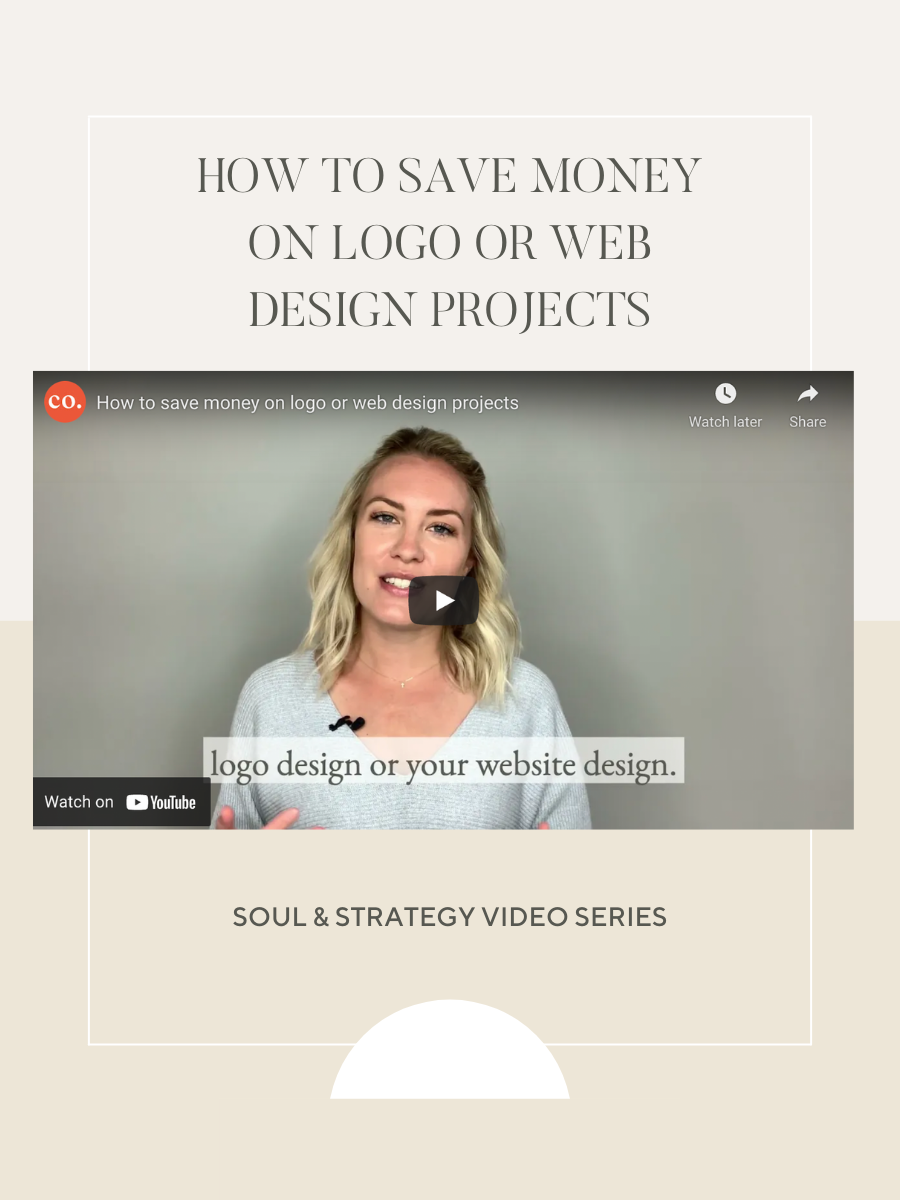 How to save money on logo or web design projects
