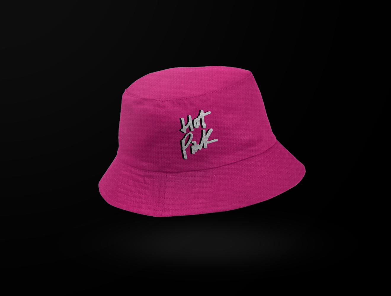 Hot Pink Bucket Hat