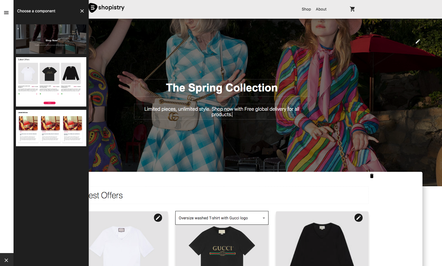 Manage your own storefront easily with Shopistry headless commerce platform