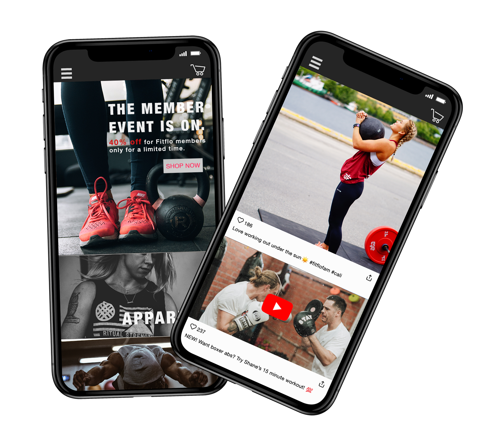 Mobile first headless ecommerce