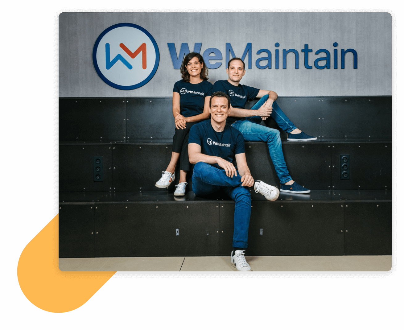 WeMaintain's founders
