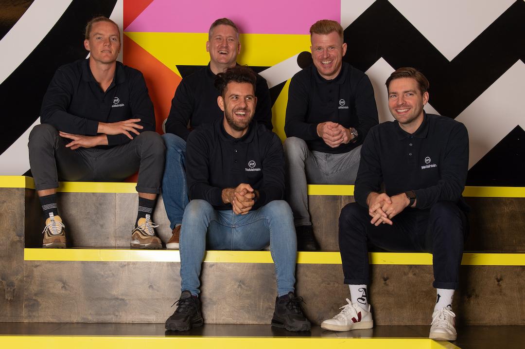 WeMaintain's team - UK