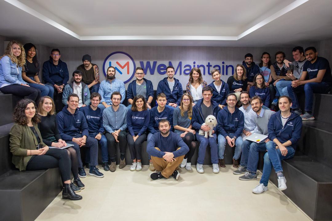 WeMaintain's team - France