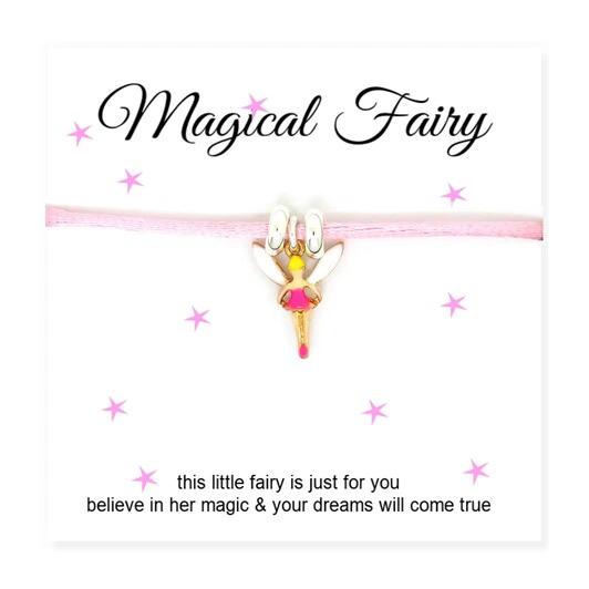 Fairy Cord Bracelet With Card