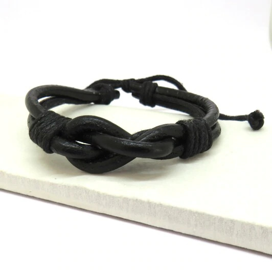 Black Knot Bracelet