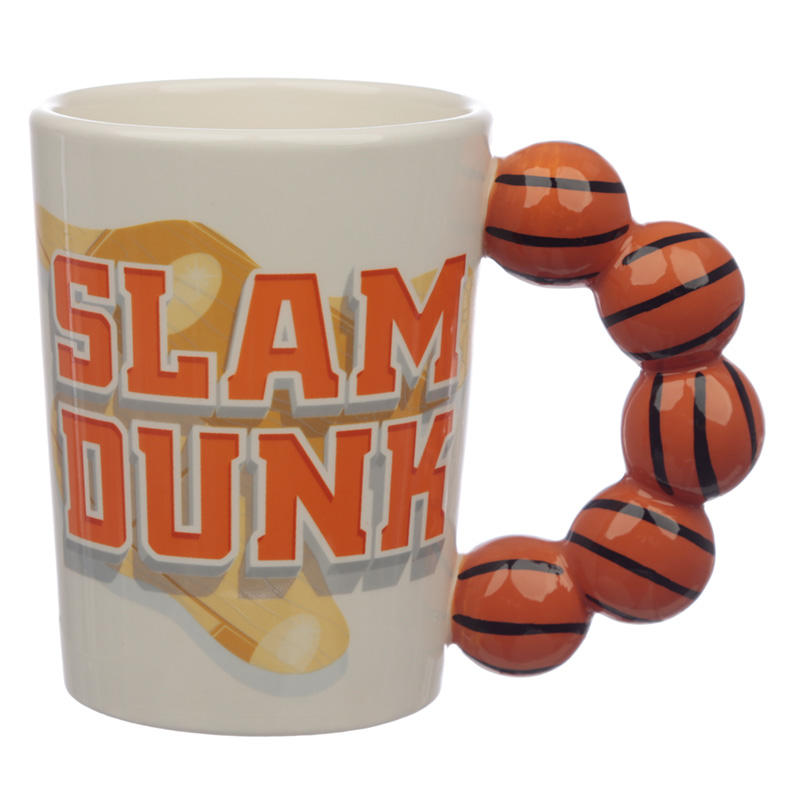 Ceramic Basketball Novelty Mug