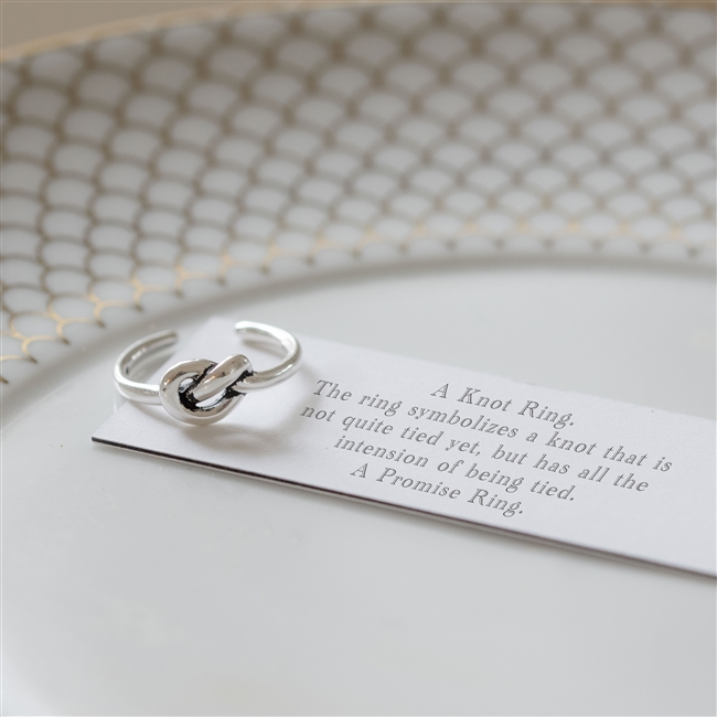 """""""A Little Promise"""" Ring"""