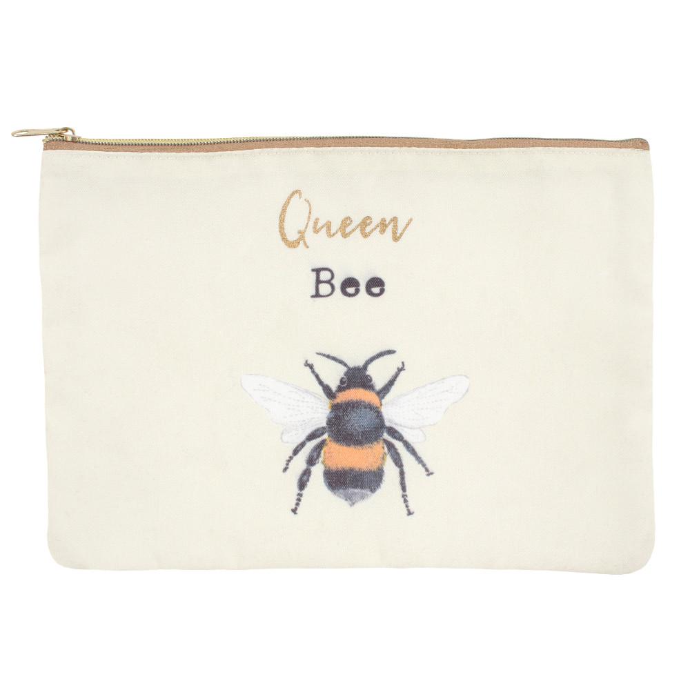 Queen Bee Makeup Pouch