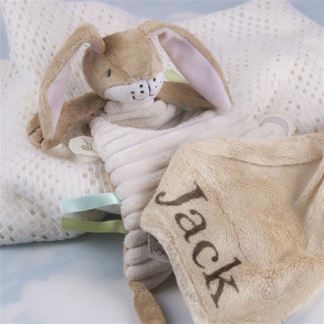 Personalised Rabbit Snuggle Blanket