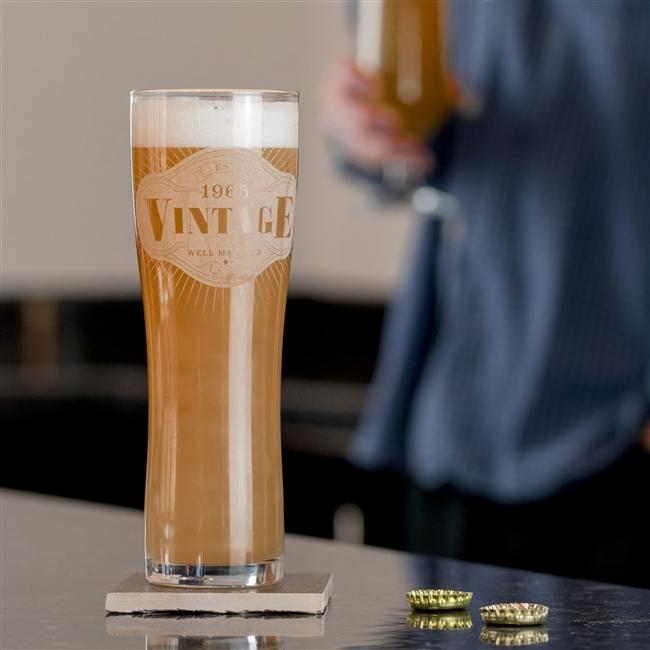 Vintage Beer Glass