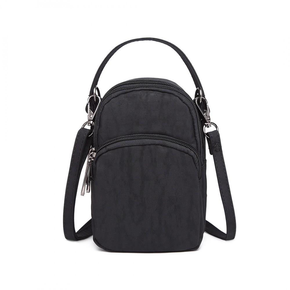 Kono Compact Compartment Cross Body Bag