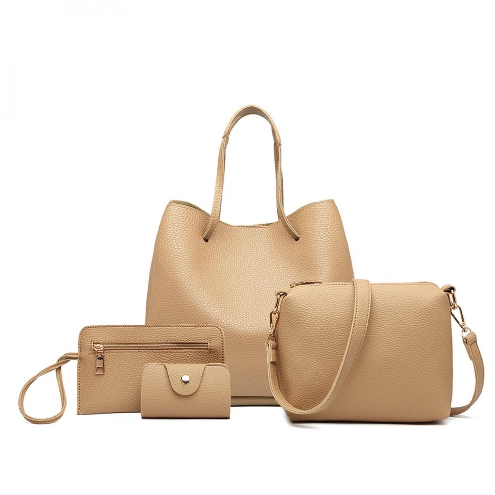 Four Piece Tote Handbag