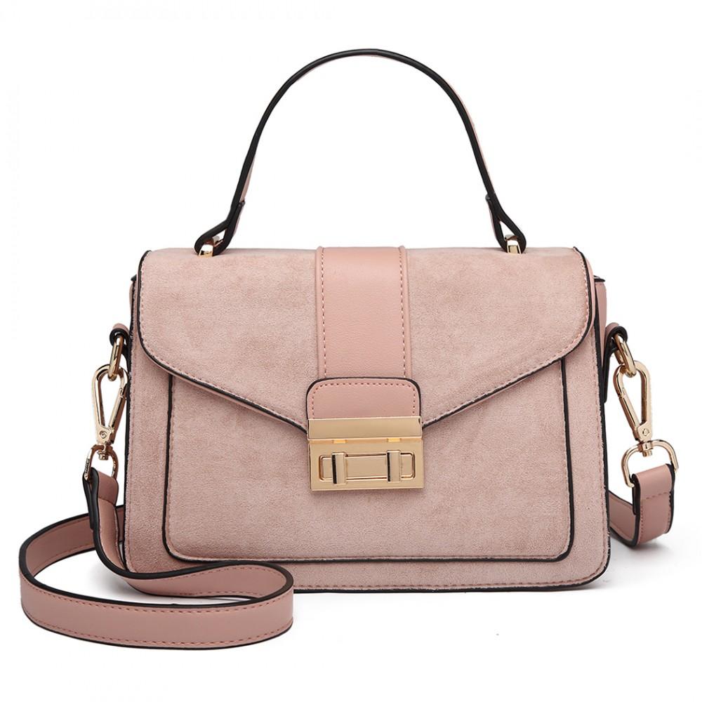 Matte Leather Handbag
