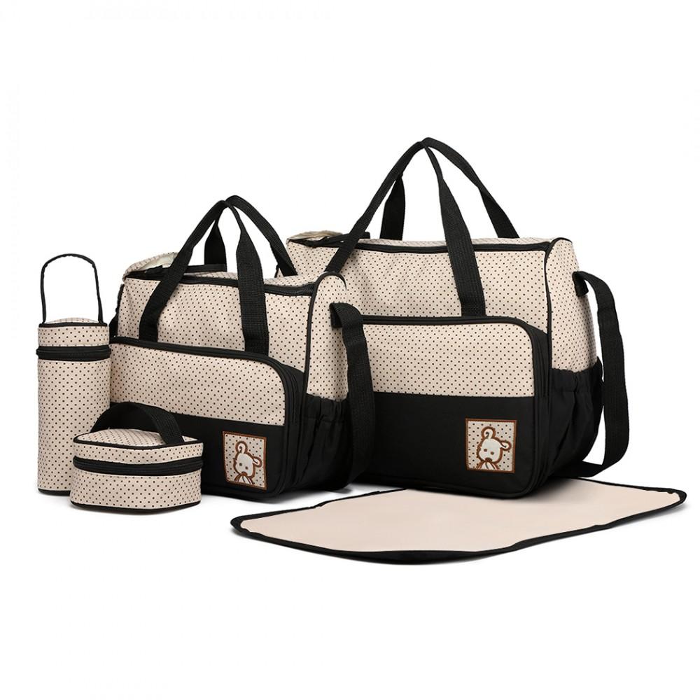 Polyester Maternity Bag - Black