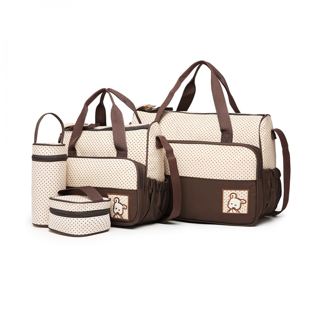 Polyester Maternity Bag - Brown