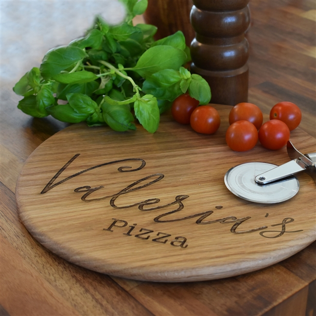 Personalised Pizza Board