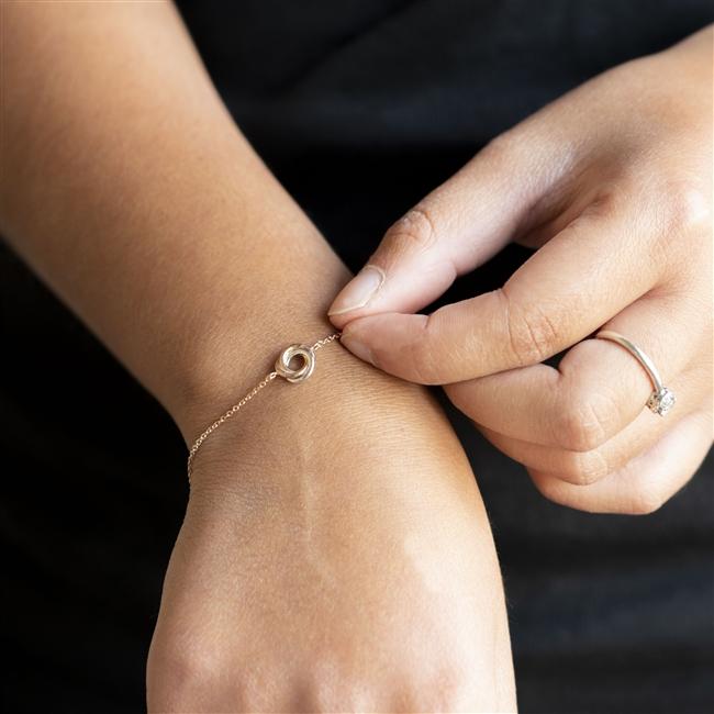 Bridal Knot Bracelet