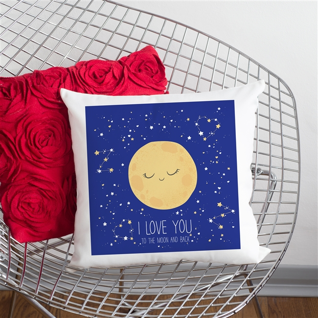 'I Love You To The Moon And Back' Cushion