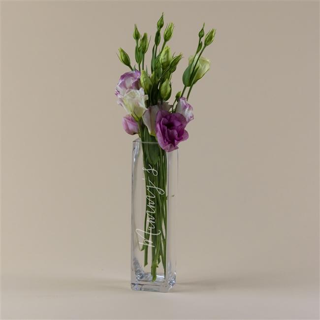 Personalised Script Name Vase