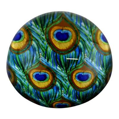Glass Peacock Ornament