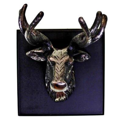 Stag Head Wall Ornament