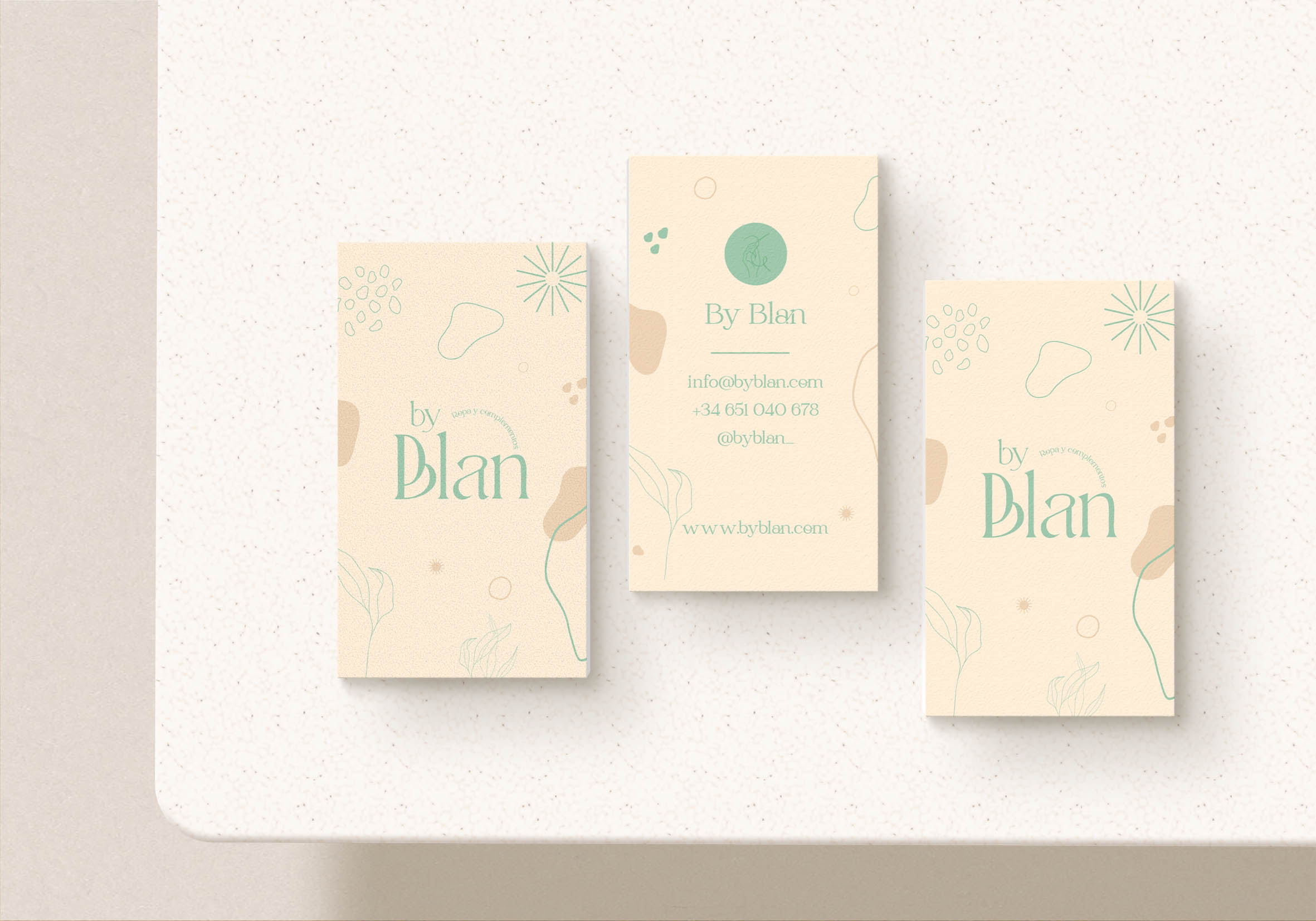 Business Cards para By Blan