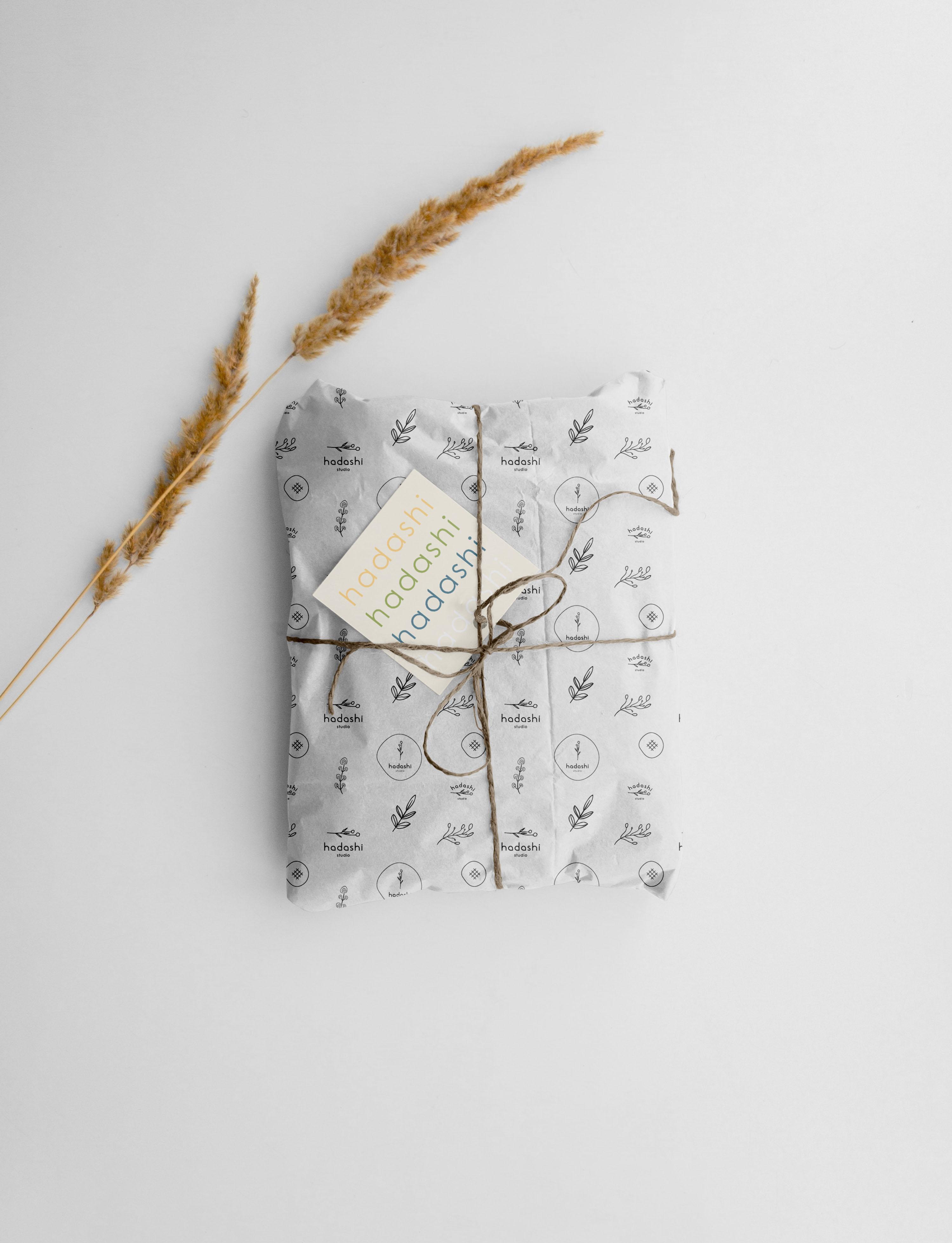 Packaging para Hadashi Studio