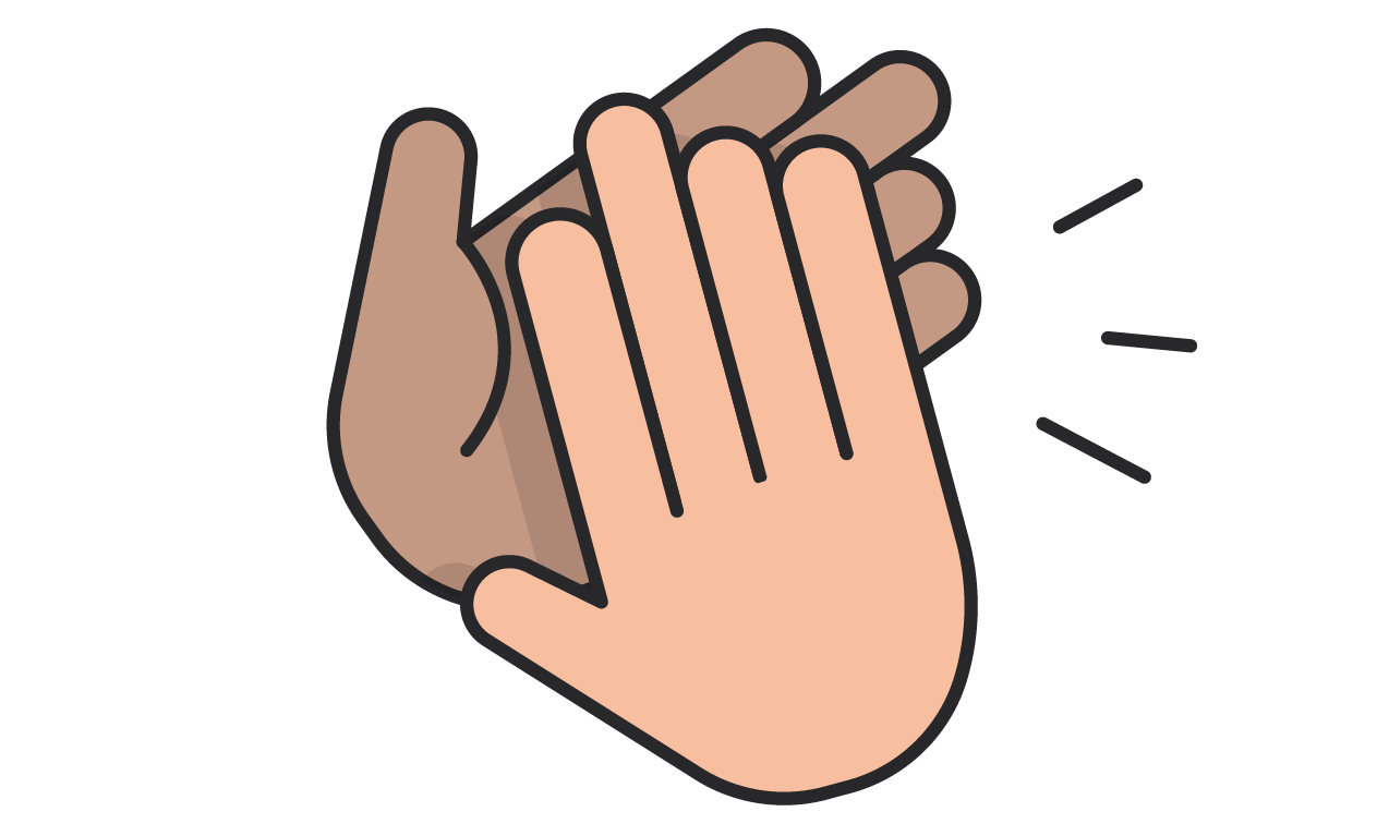 Celebratory High Fives Icon