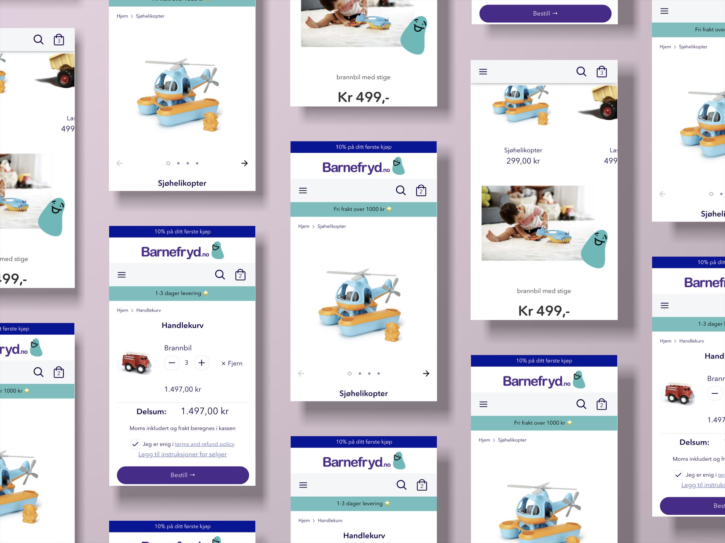 Nettbutikk, Shopify, Identitet, Ux-design, Branding, Tone Of Voice, Design, Illustrasjoner