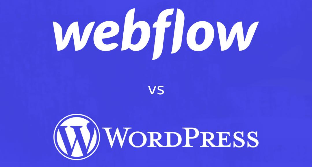 Webflow vs WordPress: Hvilken bør du velge?