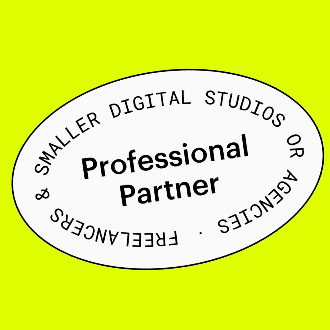 Det er offisielt, vi er webflow partnere!