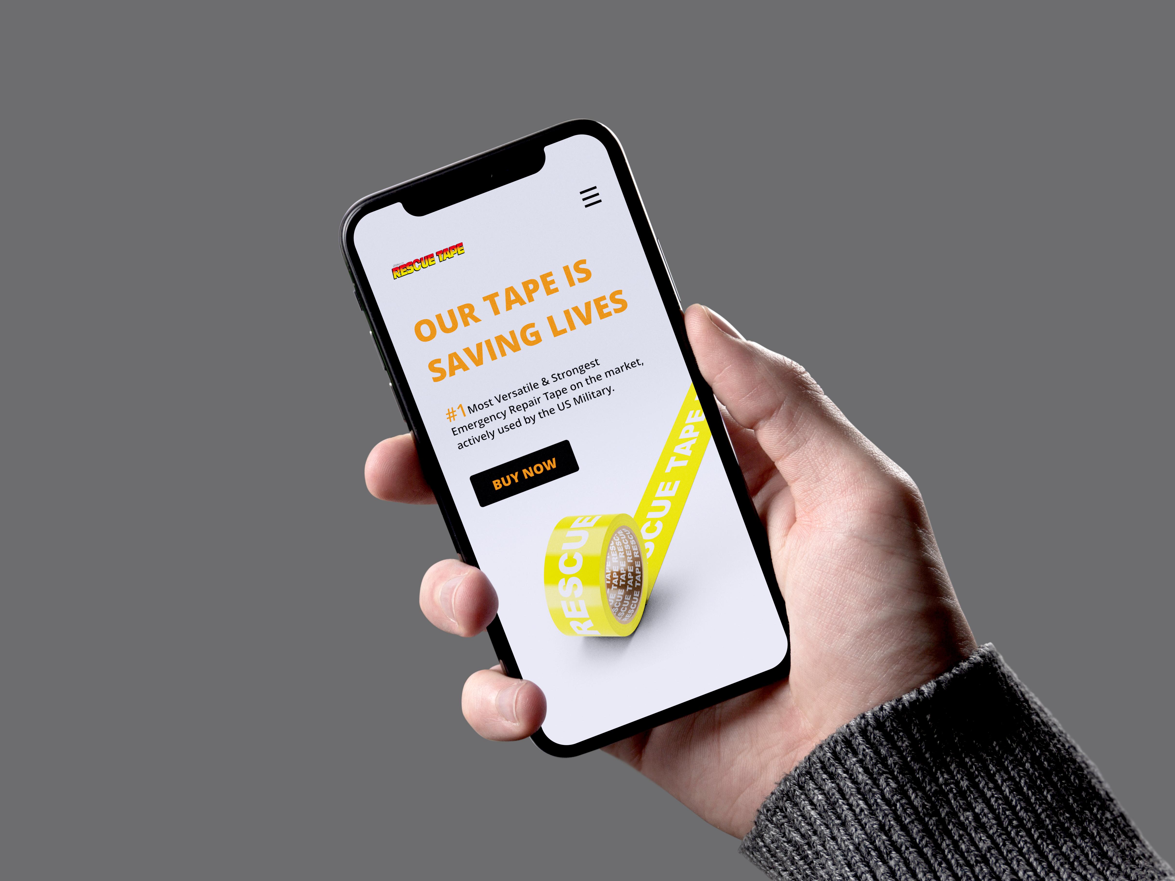 Smartphone dizajn za Rescuetape