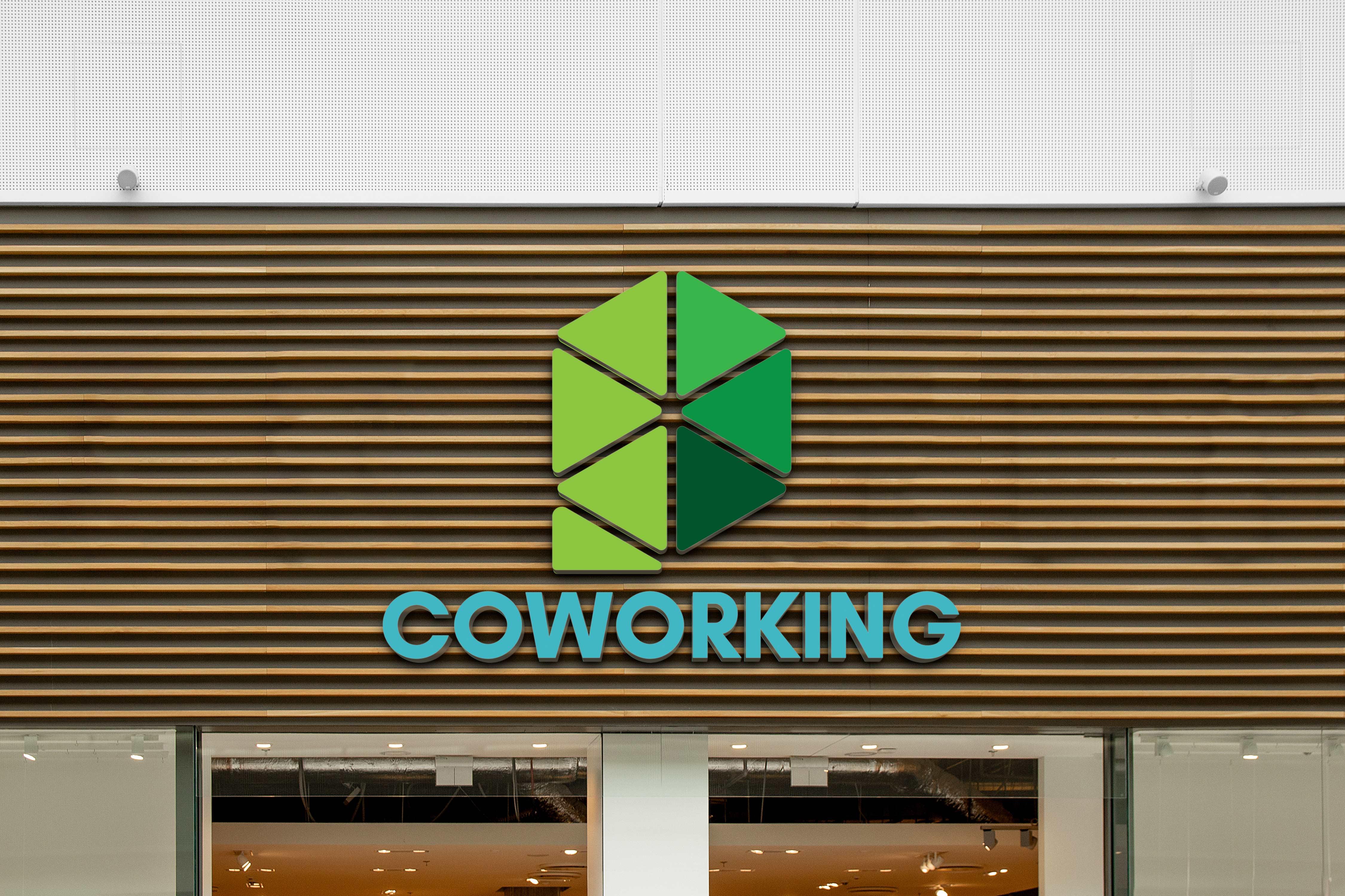 Logo za Pins coworking